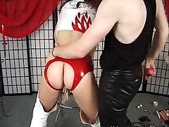 Horny man enjoys dominating his bitch