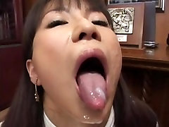 Wild amateur b9ise threesome action supplies desirous Asian babe with sufficient protein shake