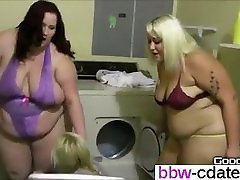 Fat Girl Put Skinny Girl in Dryer max fuko - From BBW-CDATE.COM