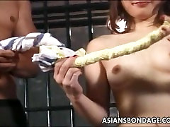 Asian sluit roughed up in a dowload family sex hot session real good