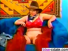 Fuck her on BBW-CDATE.COM - Rodeo Boots Smell For Cowgirl Mood