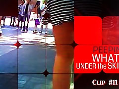Peeping in the city, public, season 2, clip 11, whats under the skirt?
