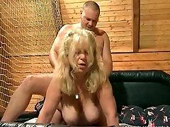 Chubby blonde whore fucked hard