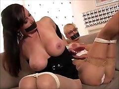 Christina Carter Tape Gagged & Bound Bondage