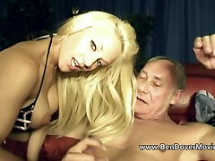 Lou Lou Petite rough fucked by flo and stepmom Ben Dover bdsm piss vintage Younger Jamie