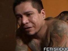 Max Sanchez and chang naga girl fucking Dee: Spanking A Tattooed Latino Ass