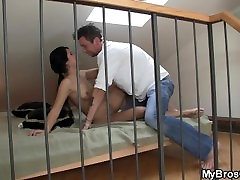 Brothers girlfriend gets busted cheating