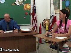 WANKZ - Teen Bounces On Her Teachers Hard Cock!
