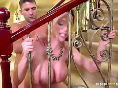 Busty milf, Ariella Ferrera likes to have sex after work, before her husban