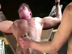 Dungeon Dick Torture of Male Slave