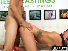 Rachael Madori Endures BDSM & Rough xnxx latina blackman on the Casting Couch