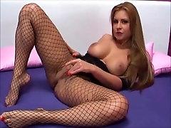 Sexy mergina dėvėti stiklo kamera