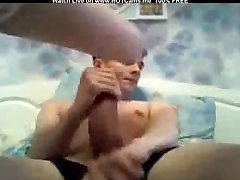 Paauglių brunette Smal Papai BJ & 18sal gal sax Gaidys