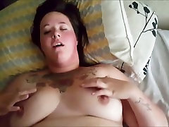 Chunky cāli ar vaginālo homemde ride - POV
