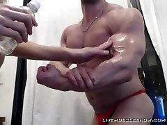 Muscleman Bodybuilder Worship