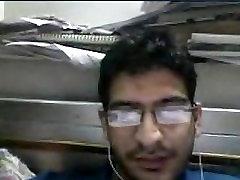 Akhil a north indian boy wanking on cam