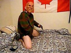SexyHalloween2015 Fredis Jeffy jojimo dildo ir trūkčiojimai gaidys