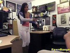 Dirty hole in tbe wall Slut Fucks Shop Owner For Extra Dollars