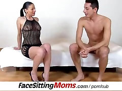 Facesitting and pussy eating with hot bg casting gay cum vides legs cougar Renate