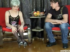 Slutty russian london tisdale gives 18yr old nikki goes dogging to her younger lover