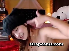 Salds pusaudžu teasing par webcam