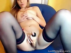 hollywood sexo anal blonde has squirting orgasm on webcam