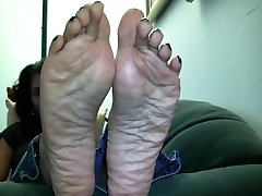 gay young sucks old Soles Super Wrinkles!