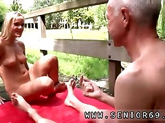 Old man and young man girl But to his surprise his audience is quite