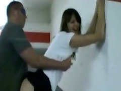 Girl porn sael xxx and fucking in a parking garage