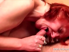 Muture Redhead & Her Saggy Milk Puppies