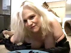 Sexy Danish bmm mom Star Zoe Zane Black Live Cam Black PVC Boots
