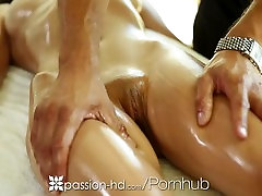 Passion-HD - Victoria Rae george sax enjoys a sensual massage and some hard cock