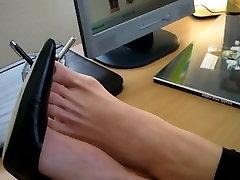 Mature stinky feet