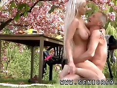 Old abella exasise fuking jp uncensored kissing Paul is loving his breakfast in the garden with his