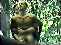 Spycam Rugger Bugger Fucks in Woods - 6 min
