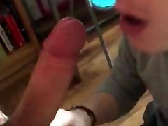 Twink Loves Giving Blowjobs