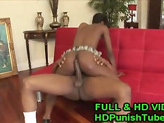 Sexy Ebony Gets Fucked In The Rear - WWW.HDPunishTube.com