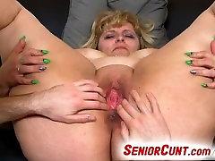 Mature rui hazuki monsteranal fingering and toying feat. fat mom Anna
