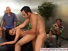 Asian housewife fucked by stranger