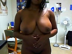 huge tits mom pron full vedi from BlacksCrush.com plays with her pussy