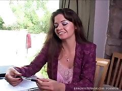 Dude Cums Inside His Hot Horny Stepmom!