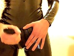 Fetish Twink All PVC & Rubber Masturbation