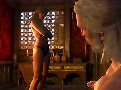 The Witcher 3: Wild sex scene in tv seriesPassiflora Whore 2