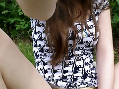 18 Year Old Daughter Masturbates Outside In Public