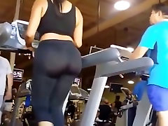 pawg working out