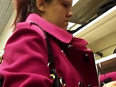 Nice video of two hot women sexy pantyhose upskirt at store