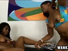 Sexy Ebony Lesbians