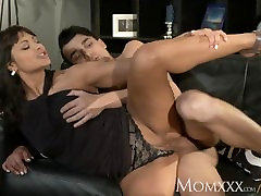 MOM Man eater older woman does what she wants with anal on sleeping girl young stud