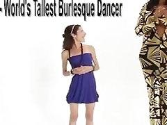 Super tall Amazon Ashley 72 in fuck soex video heels