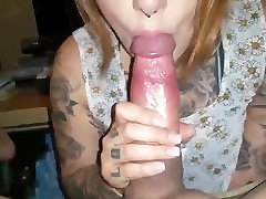 Emo Punk Blowjob, bly oral on andrwir & cum in mouth